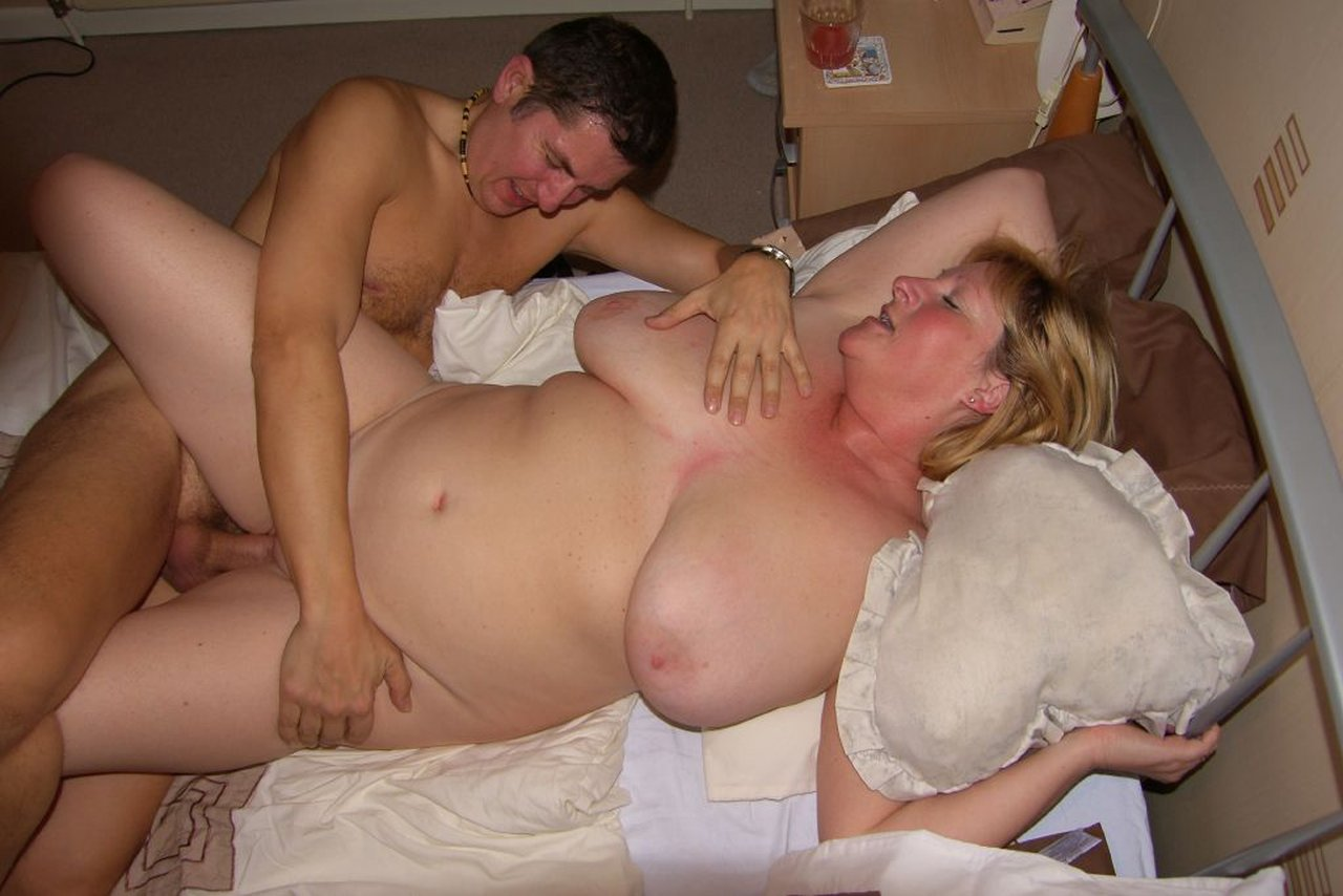 Young boys share milf