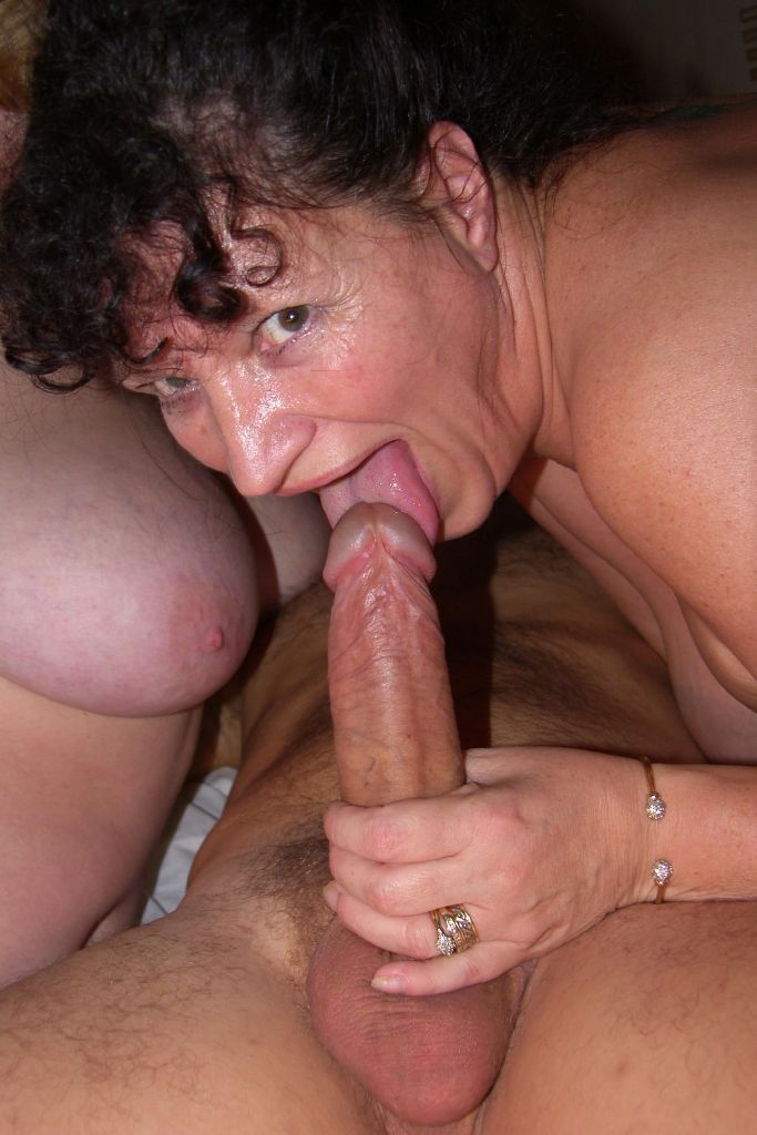 Mom suprised by sons big dick